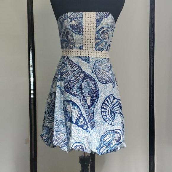 Lilly Pulitzer Dress, Size 2, Blue